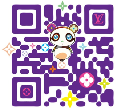 codigo_qr_takashi_murakami_louis_vuitton
