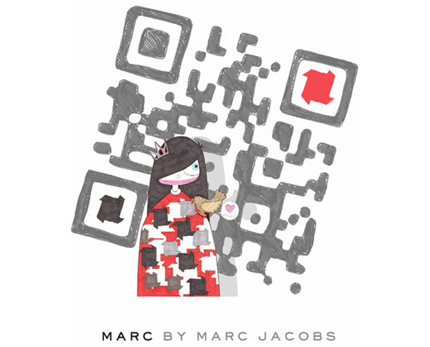 Cdigo QR de la campaa de Marc By Marc Jacobs