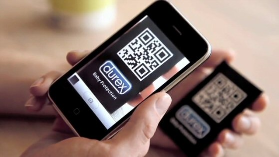 qrcode campaa publicidad durex
