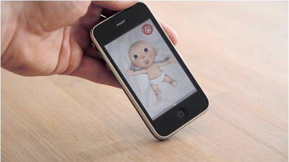 Aplicación baby durex en iphone