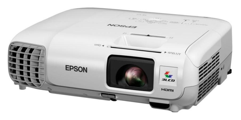 Epson EB-W28 con conexión mediante QR Codes
