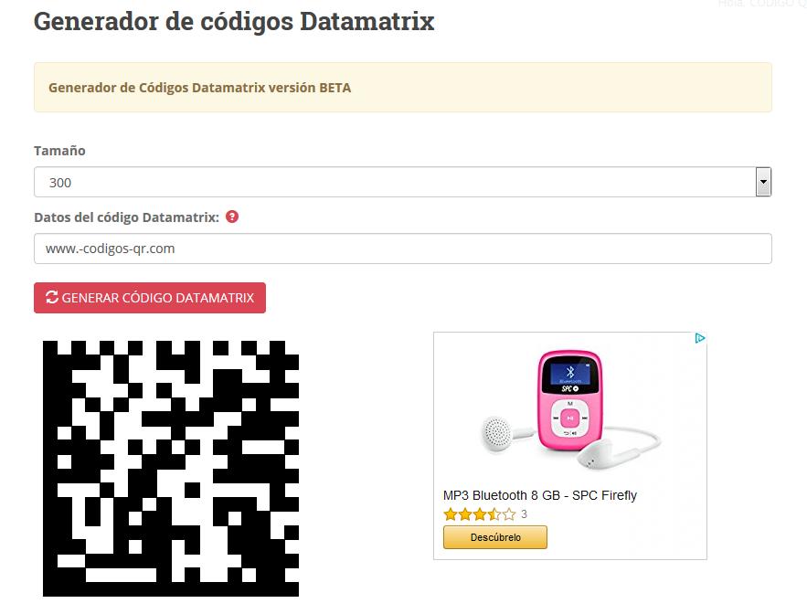 Ahora puedes utilizar nuestro generador datamatrix Gratis. Sin cóstes ni límites