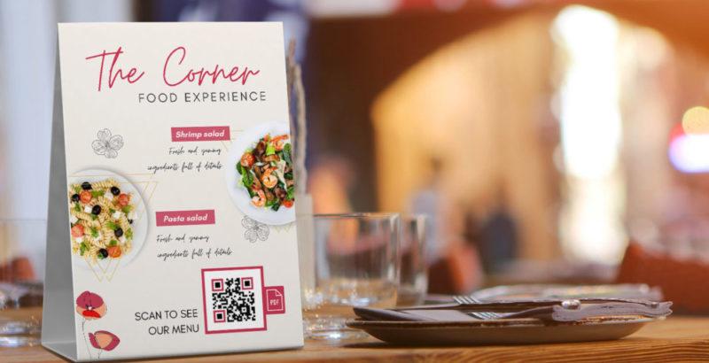 Crear código QR con la carta en PDF para bares y restaurantes