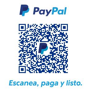 Pago con códigos QR de Paypal para el peuqeño negocio