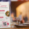 QR Codes in restaurants. QR code with PDF menu